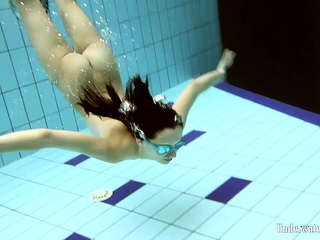 Vera Brass hot teen underwater