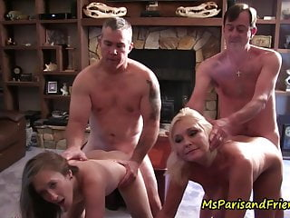 One Big TABOO Family Orgy