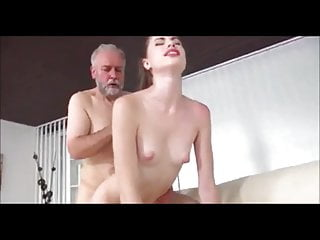 Hot young Milena fucked by dirty old Pavel Terrier